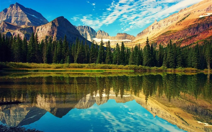 glacier national park-Scenery HD Wallpapers Views:5261 Date:6/28/2014 11:38:26 PM
