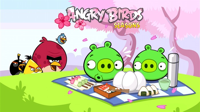 Angry Birds-High quality wallpaper Views:2861