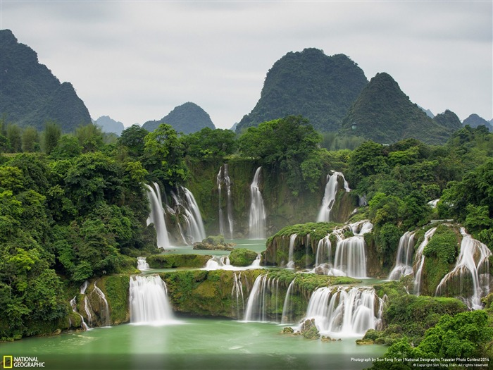 Ban Gioc Waterfall-National Geographic Wallpaper Views:8299 Date:7/22/2014 8:39:36 AM