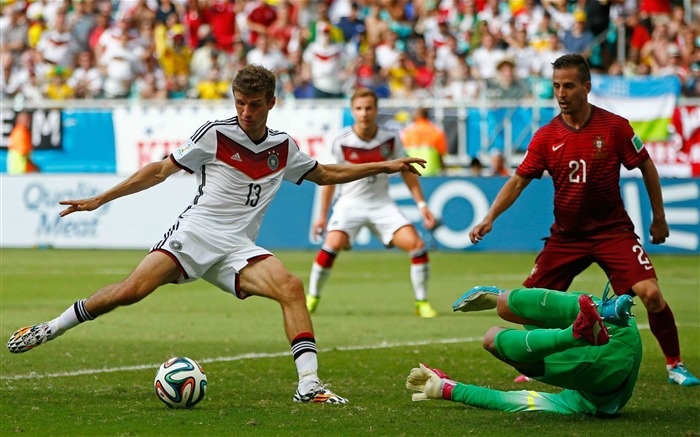 Thomas Muller-World Cup 2014 Final Germany HD Wallpaper Views:4787 Date:7/12/2014 9:14:49 AM