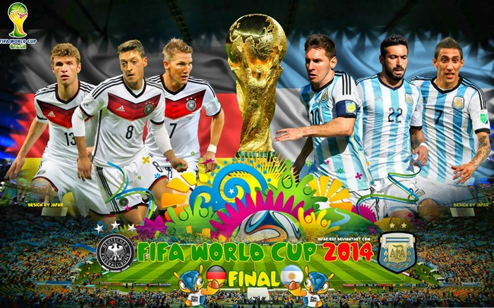 Brazil World Cup 2014 Final Argentina HD Wallpaper Views:6438