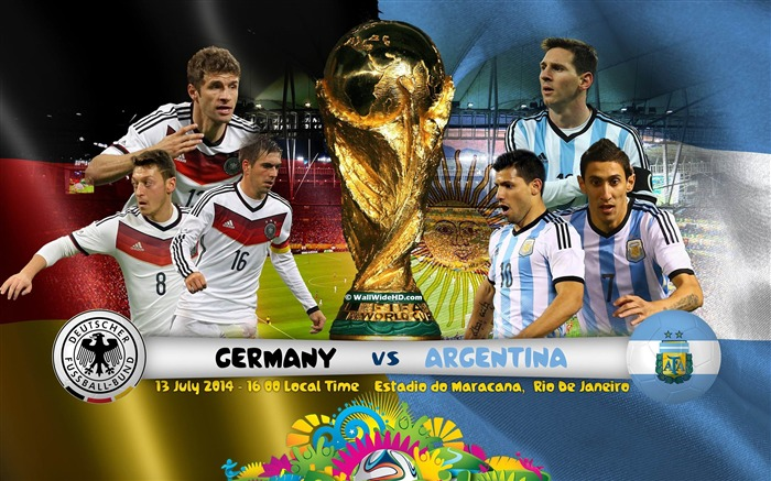 Brazil World Cup 2014 Final Germany HD Wallpaper Views:11475