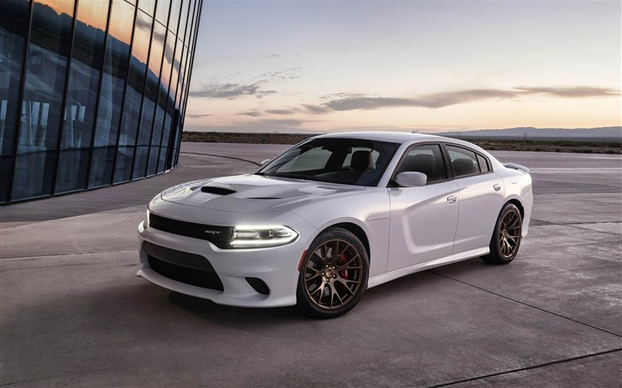 2015 Dodge Charger SRT Hellcat HD Wallpaper Views:20023