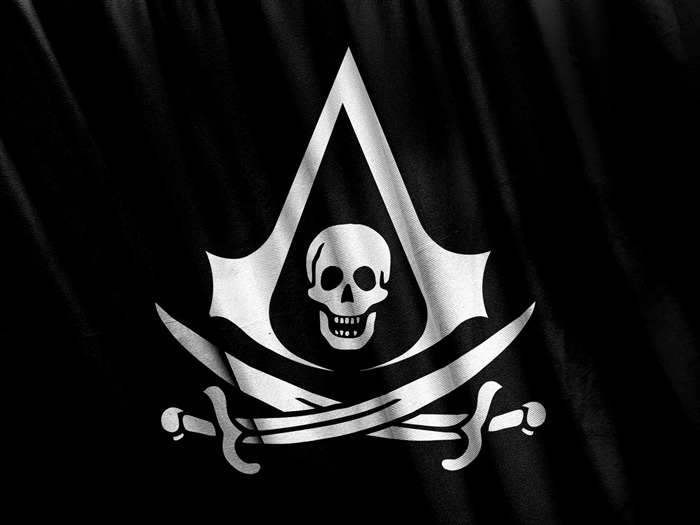 Assassins Creed Black Flag Logo-High quality wallpapers Views:2870