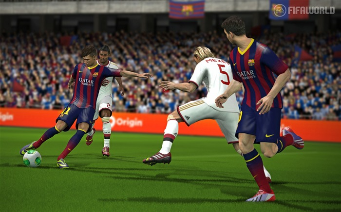 FIFA 15 Game HD Desktop Wallpaper 03 Views:3514