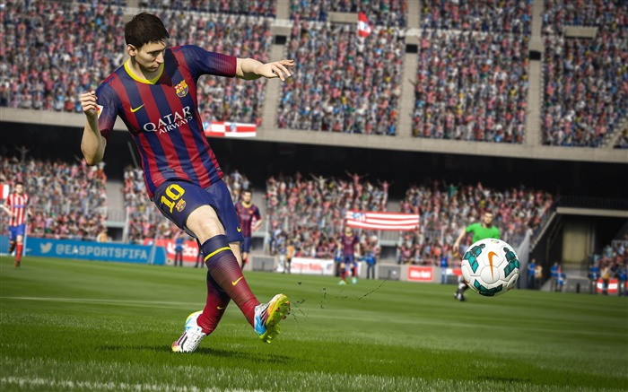 FIFA 15 Game HD Desktop Wallpaper 04 Views:3799