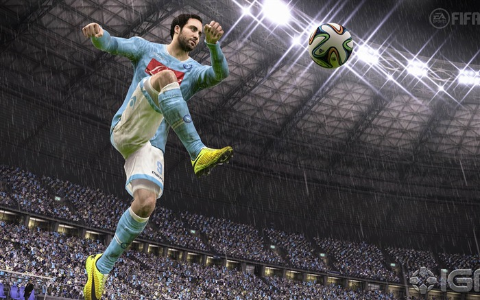 FIFA 15 Game HD Desktop Wallpaper 07 Views:3349
