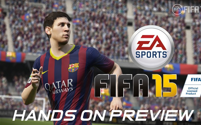 FIFA 15 Game HD Desktop Wallpaper 09 Views:2866
