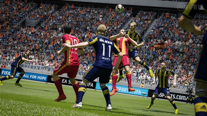FIFA 15 Game HD Desktop Wallpaper 13 Views:2956