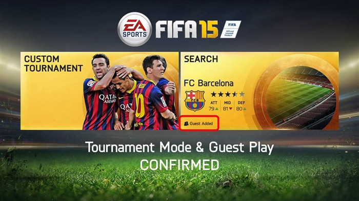 FIFA 15 Game HD Desktop Wallpaper 17 Views:1577