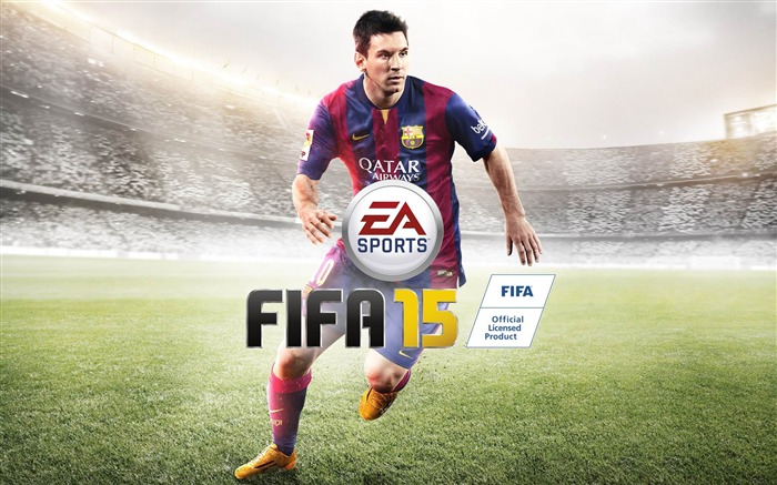 FIFA 15 Game HD Desktop Wallpaper Views:11819