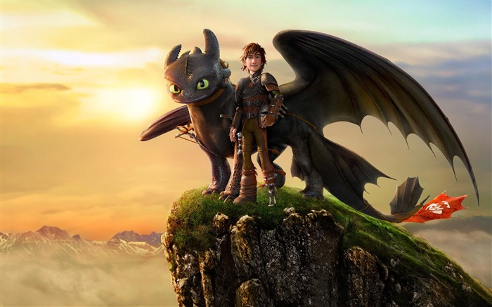 How to Train Your Dragon 2 movie hd wallpaper 02 Views:2779