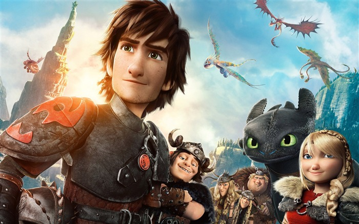 How to Train Your Dragon 2 movie hd wallpaper 11 Views:2962