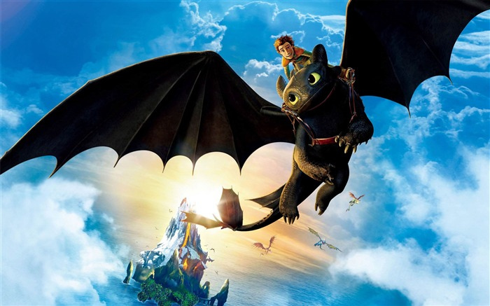 How to Train Your Dragon 2 movie hd wallpaper Views:9827