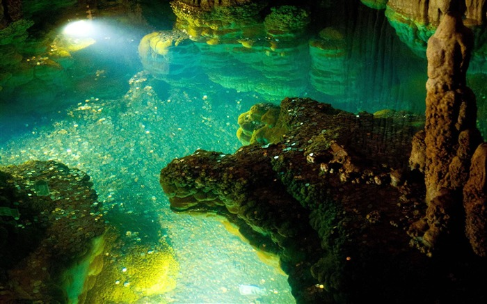 Luray Caverns Dream Lake-Nature Photo Wallpaper Views:4022