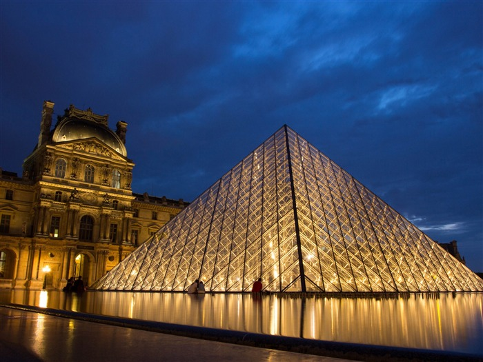 Paris Louvre-Cities HD Wallpapers Views:2494
