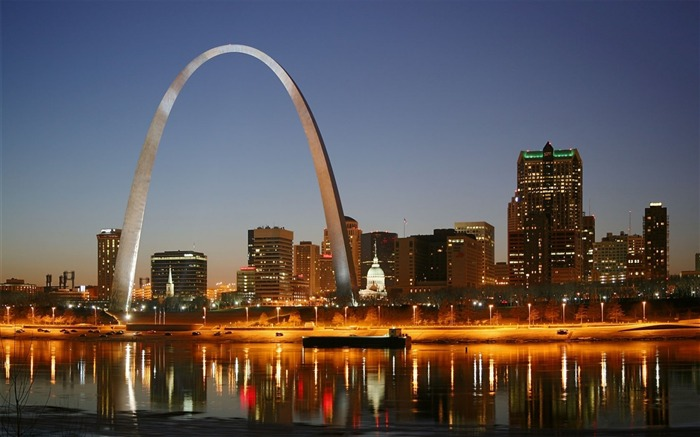 The Gateway Arch-Cities HD Wallpapers Views:2301
