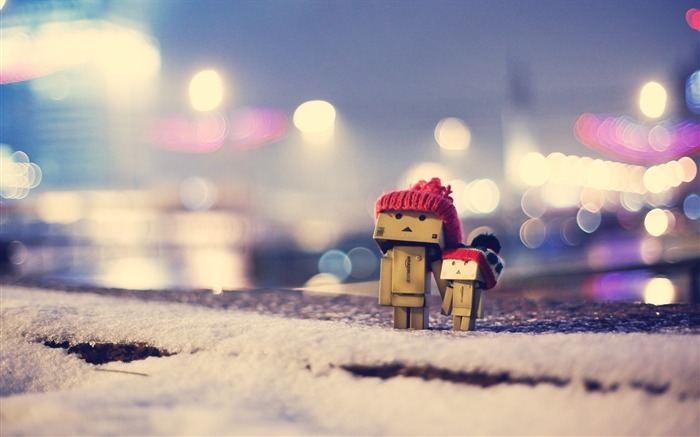 danbo winter-High quality wallpaper Views:3293