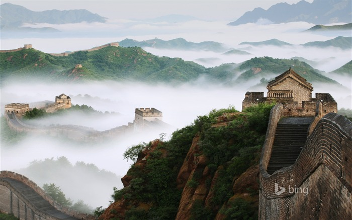 Chinese ancient Great Wall-Bing theme wallpaper Views:4092