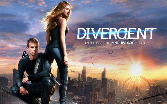 Divergent 2014 Movie HD Desktop Wallpaper Views:9260