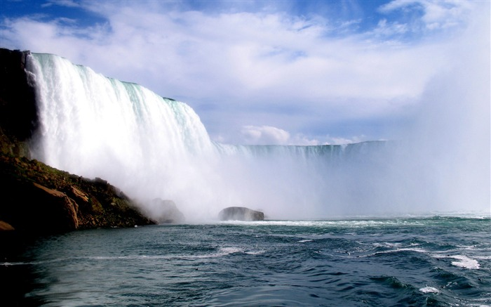 Niagara Waterfall-Nature HD Wallpaper Views:8626 Date:9/15/2014 7:50:07 AM