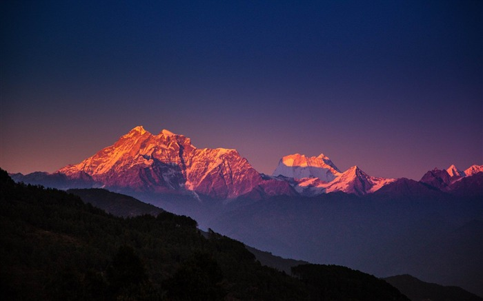 Roof of the Himalayas HD scenery Wallpaper 01 Views:3194