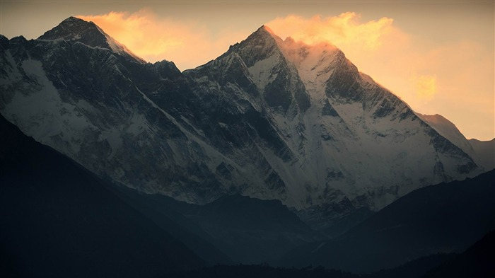 Roof of the Himalayas HD scenery Wallpaper 08 Views:2729