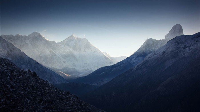 Roof of the Himalayas HD scenery Wallpaper 09 Views:3002