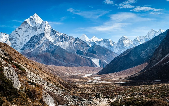 Roof of the Himalayas HD scenery Wallpaper 10 Views:4179