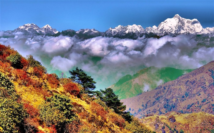 Roof of the Himalayas HD scenery Wallpaper 15 Views:2752