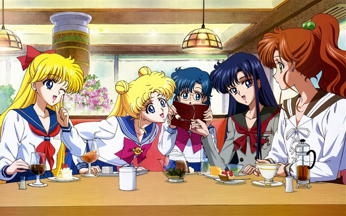 Sailor Moon Anime HD Desktop Wallpaper 10 Views:3201