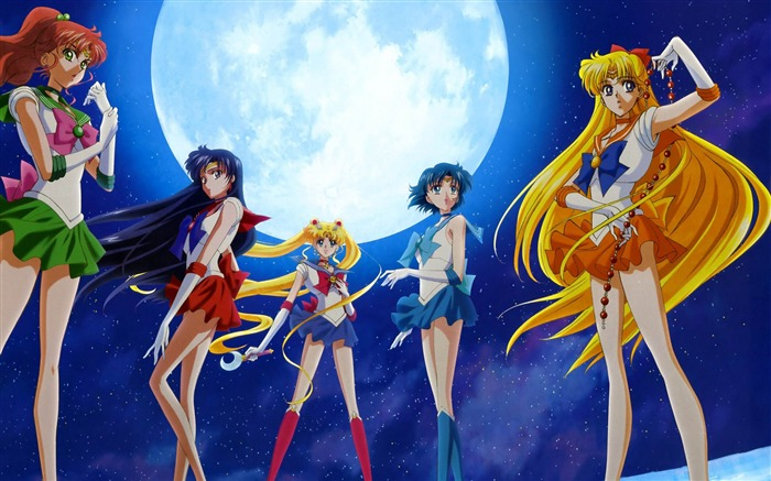 Sailor Moon Anime HD Desktop Wallpaper Views:15787