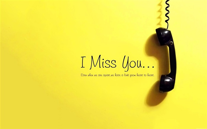 i miss you-high quality Wallpapers Views:3431