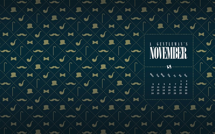 A Gentlemans November-November 2014 Calendar Wallpaper Views:3788 Date:10/31/2014 11:04:03 AM