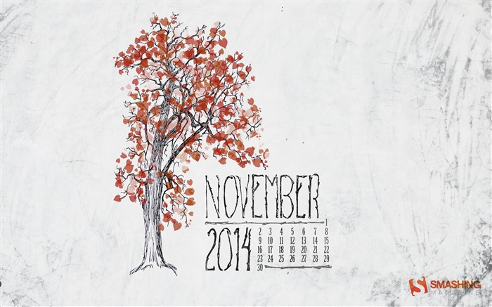 Branches-November 2014 Calendar Wallpaper Views:4460 Date:10/31/2014 11:05:45 AM