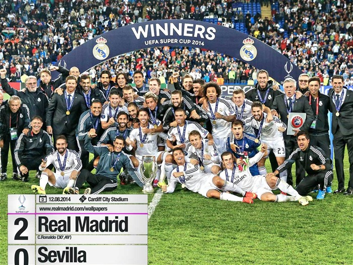 Real Madrid CF Football Club Desktop Wallpaper Views:16751