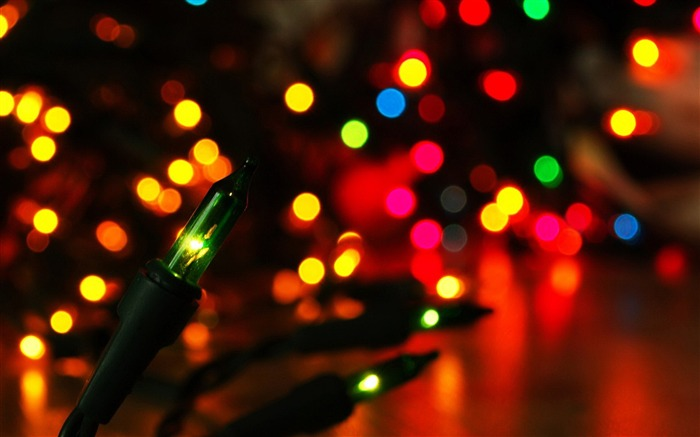 Colorful Bokeh Lights-High quality wallpaper Views:3007