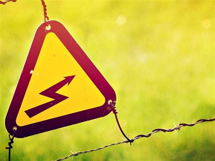 Electric Fence Sign-High quality wallpaper Views:2744