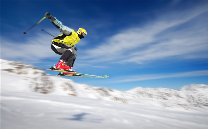 Ski Jumping-High quality wallpaper Views:1773