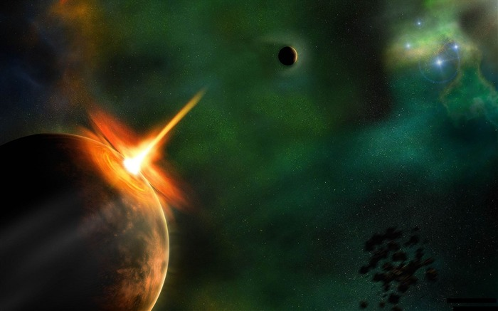 Space Impact-High quality HD Wallpaper Views:2836 Date:10/16/2014 8:15:25 AM