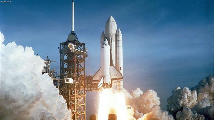 Space Shuttle Launch-High quality wallpaper Views:1622