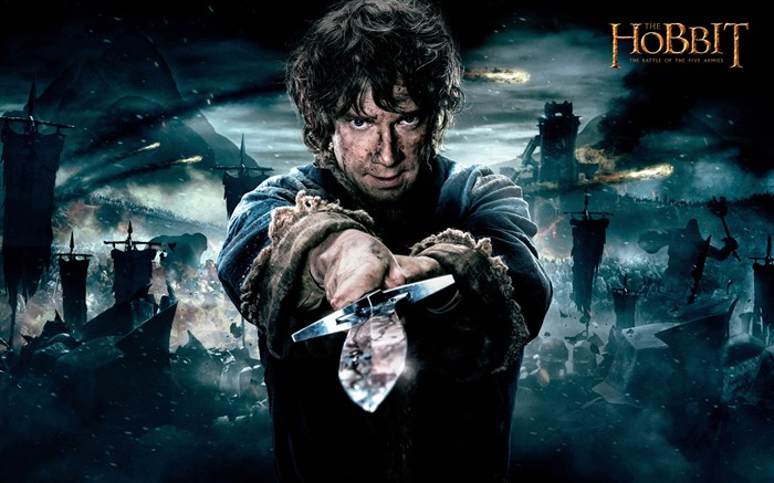 The Hobbit The Battle of the Five Armies 2014 HD Movie Wallpaper Views:9180