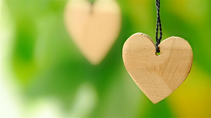 Wood Love Hearts-High quality wallpaper Views:1157