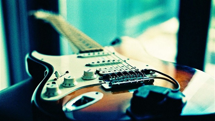 Cool Electric Guitar-High quality HD Wallpaper Views:2707