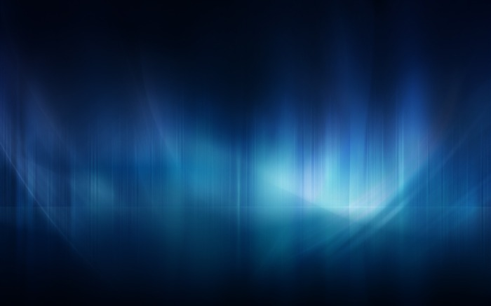 Dark Blue Aurora-Abstract widescreen wallpaper Views:2852
