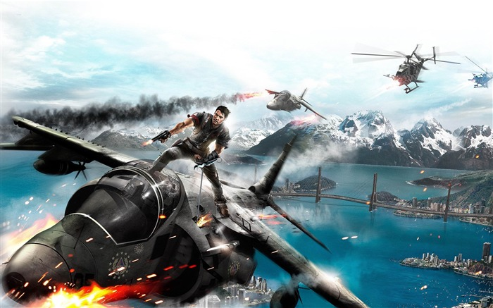 Just Cause 3 Game HD Desktop Wallpaper 07 Views:2611