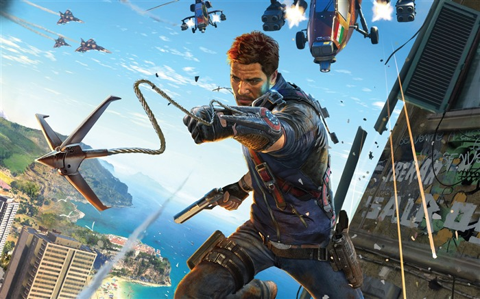 Just Cause 3 Game HD Desktop Wallpaper Views:7990