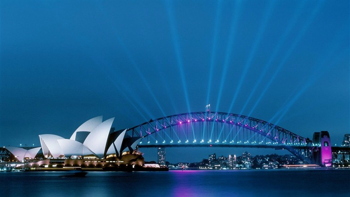 Night Sydney Lights-Photography HD Wallpapers Views:2899