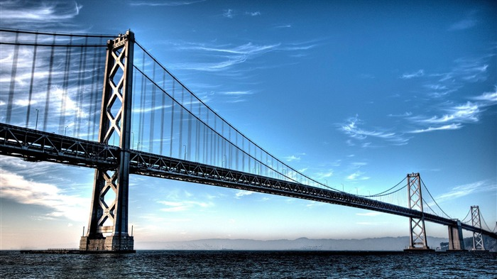 San Francisco Bay Bridge-Photography HD Wallpapers Views:1602