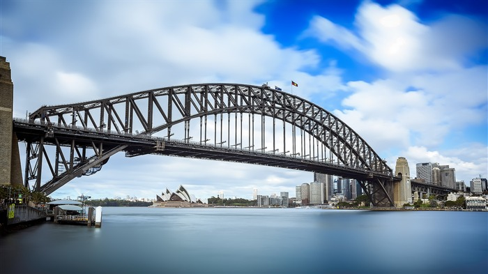 Sydney Bay Bridge-Photography HD Wallpapers Views:1420